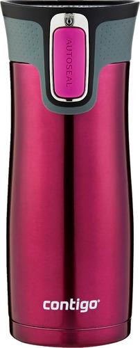 autoseal® west loop 2.0 vaso térmico 16 oz color sangria