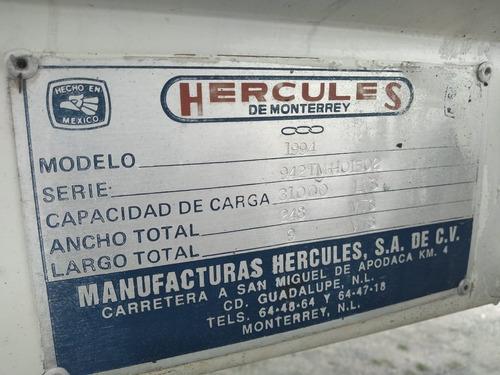 autotanque para combustible hércules 31 mil lts
