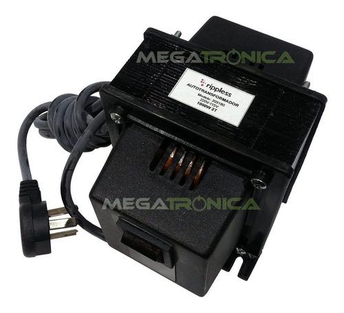 autotransformador 1000w reales 220v a 110v ind.arg en caja