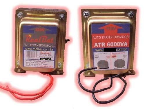 autotransformador 6000va (4200w) trafo bivolt 127x220x127v