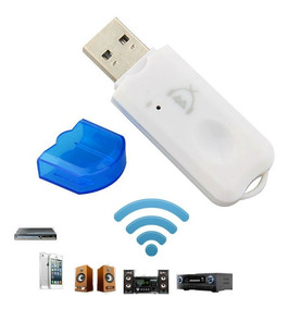 Auxiliar Bluetooth Receptor Usb Audio Auto Y Estereo Hogar