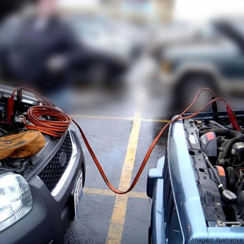 auxiliar de partida carga bateria cabo chupeta 12v 200 amp