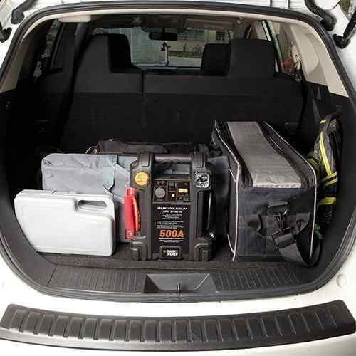 auxiliar de partida maleta 12v bivolt black & decker 500amp