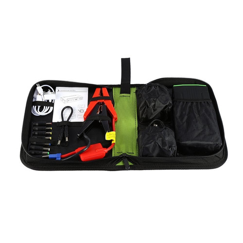 auxiliar de partida portatil carro/moto/barco 30000mah 12v