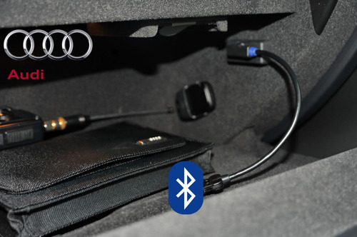 auxiliar para audi + bluetooth ami a4 a5 q5 q7