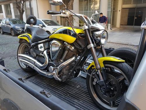 auxilio de motos acarreo de motos traslado de motos 24hs mp