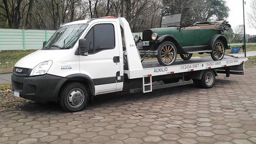 auxilio grua traslados automotor y maquinarias