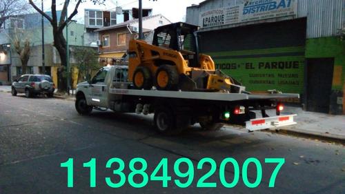 auxilio mecanico grua plataforma hidraulica zona oeste $65