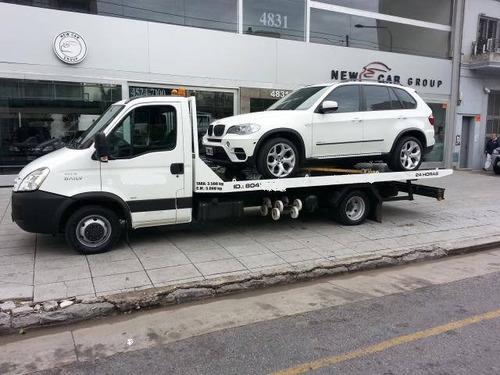 auxilio mecánico grua remolque 24hs camilla traslado minibus