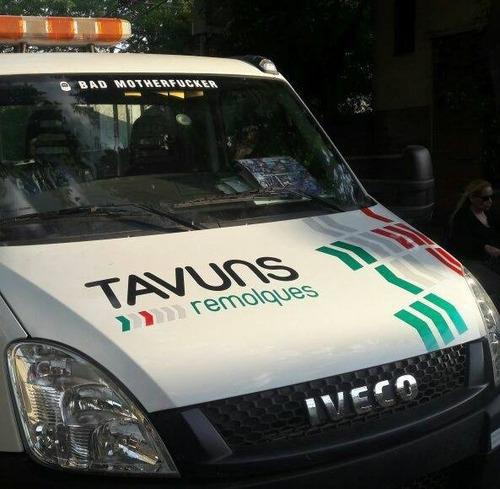 auxilio remolque grua traslado transporte de vehiculos 24hs