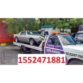 Auxilio Remolque Grua Traslados Capital Gba Interior 24hs