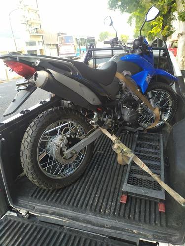 auxilio remolque , traslado de motos