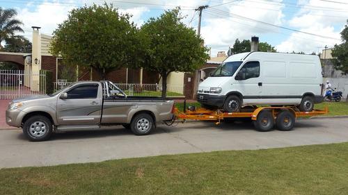 auxilio vehiculo trailer autos