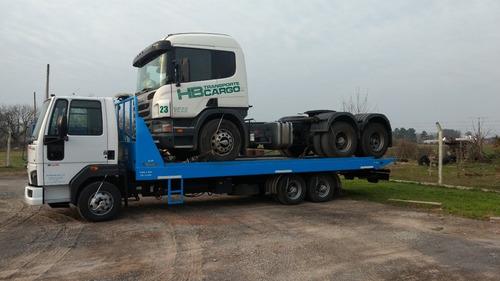 auxilio y transporte de maquinas viales y camiones