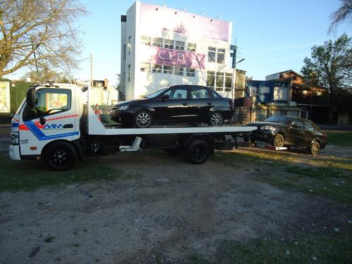 auxiliomecanico grua remolque camilla para traslado de autos