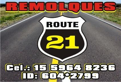 auxilios y grúas - remolques ruta 21