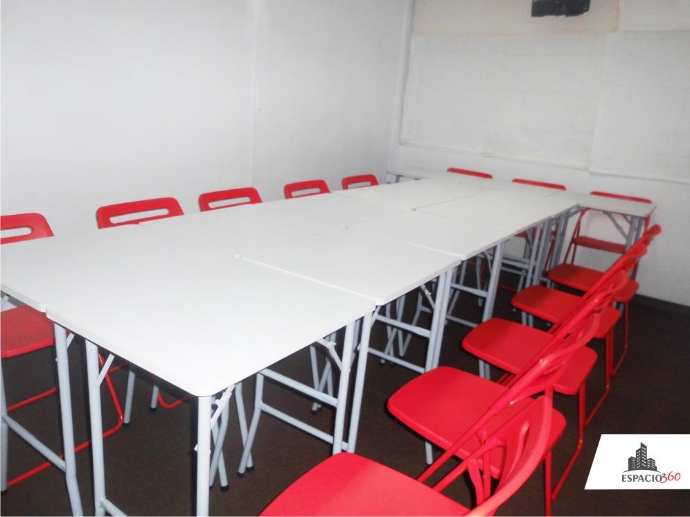 [av. arequipa - full equipo] aula, sala, salón, capacitación