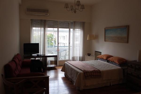 av. cordoba 400 - en venta - excelente estudio al frente con balcón