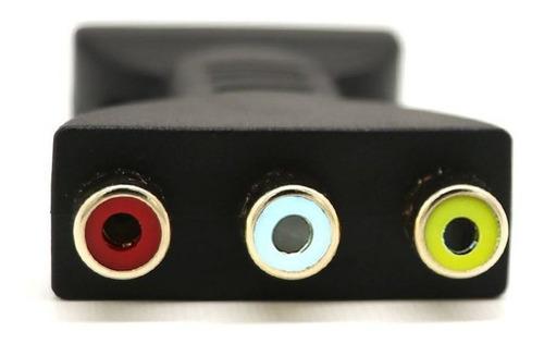 av digital signal hdmi para 3 rca audio adaptador componente