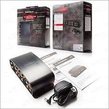 a/v distribuidor amplificador radio shack
