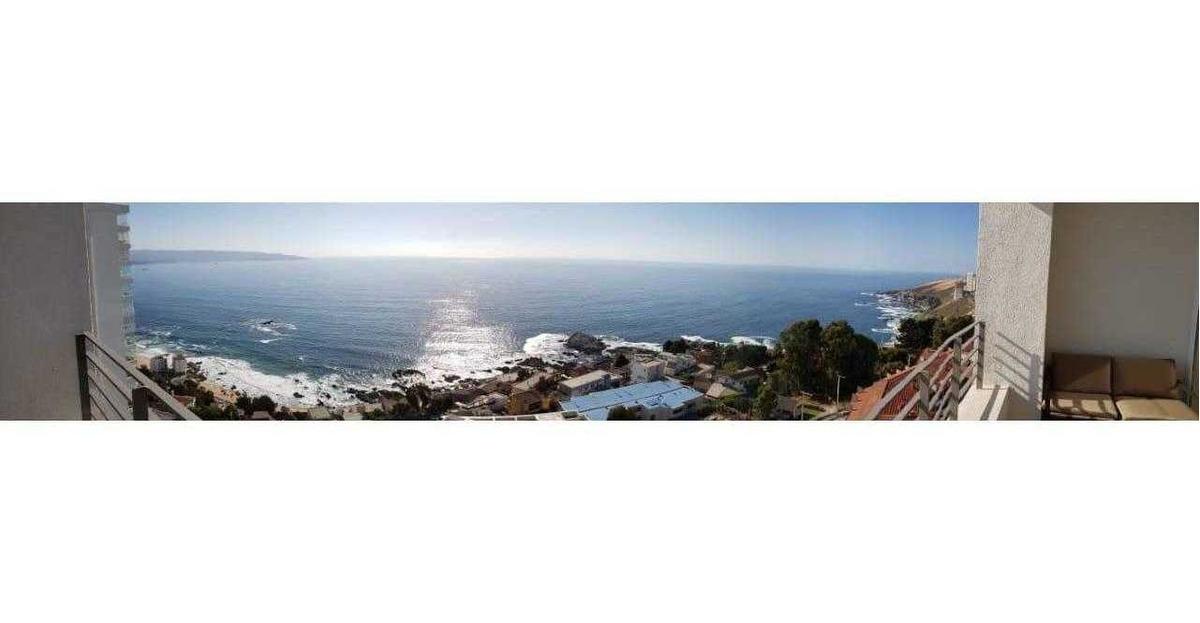 av edmundo eluchans, 1° linea con vista al mar, fuegos artificiales visto desde la terraza del depto.
