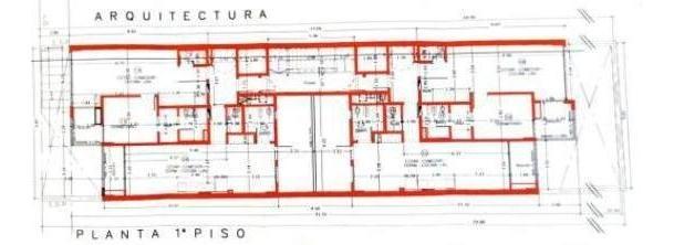 av. gaona 1300 caballito excelente lote c/planos aprob  9,60 x 52 m2 apto 1600mts coch
