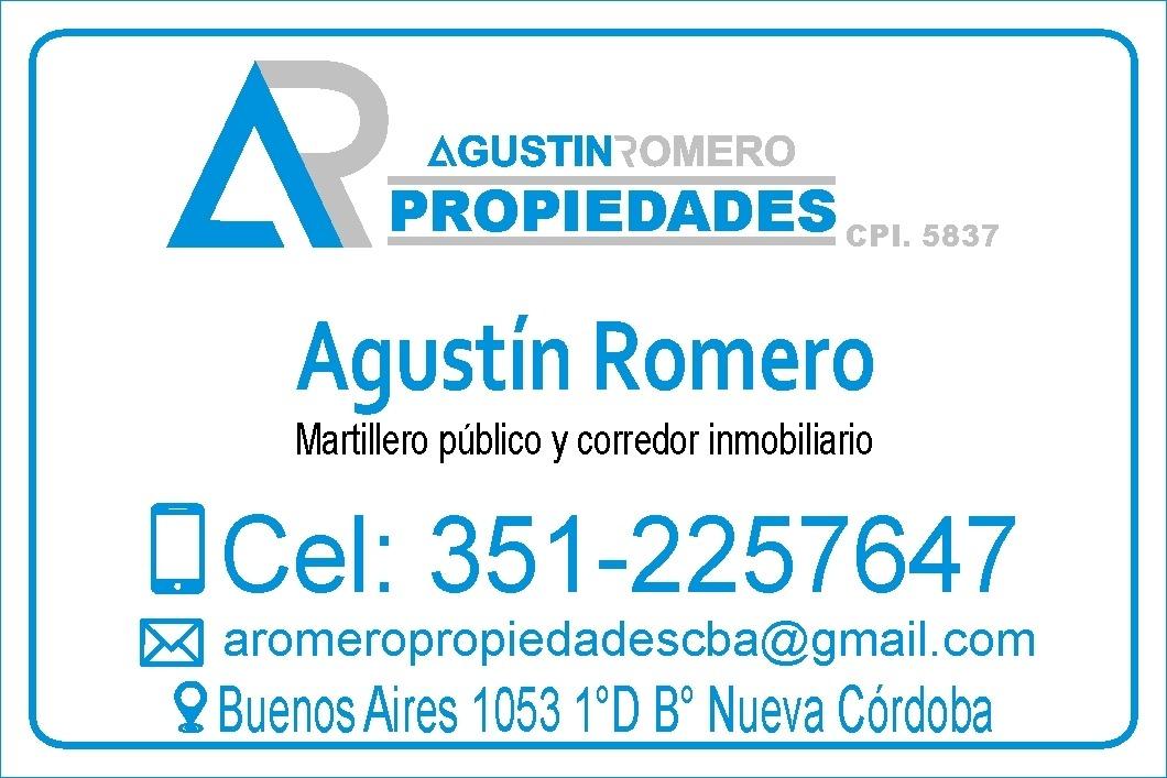 av. pueyrredón 1100 vendo casa/ lote esquina b° observatorio