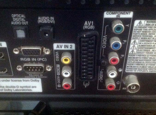 av rgb scart cable tv av -ps1 ps2 ps3 para pal /ntsc consola