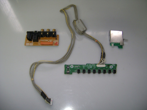 av + sensor + placa led lg 42px4rv 6870vs2218b 6870vs2219c