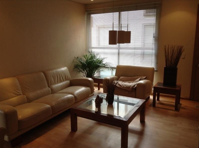 av. toluca, amplio e iluminado departamento en condominio en venta