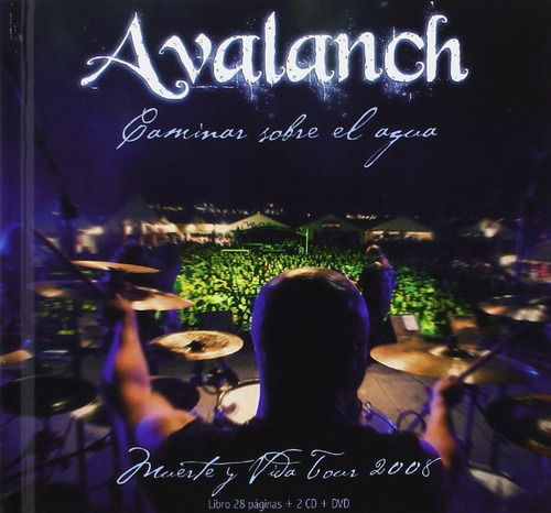 avalanch - caminar sobre el agua (2cds + 1dvd) (2008)