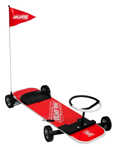 avalancha apache original carro tabla patineta infantil