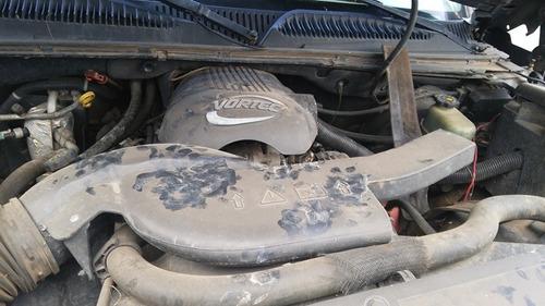 avalanche 2004 accidentada motor 5.3 vortec partes