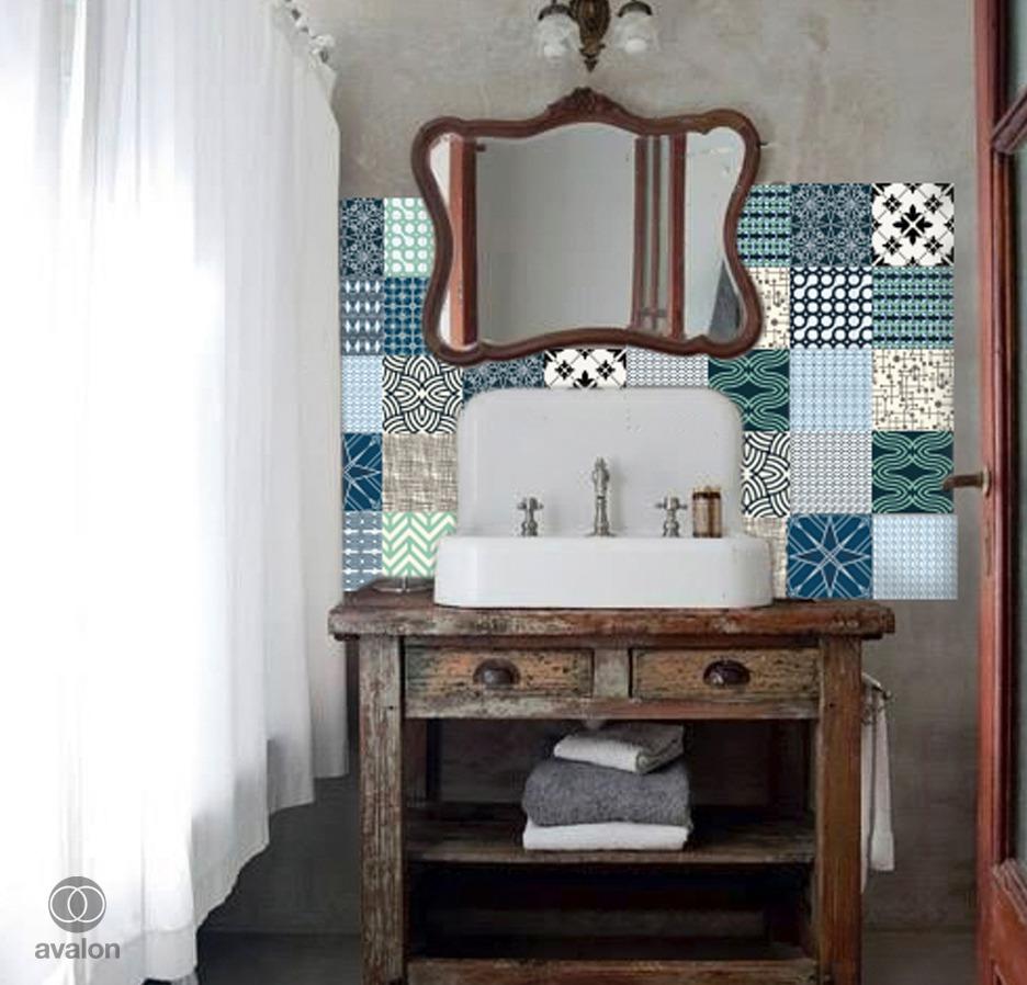 Vinilos azulejos bao azul affordable vinilos decorativos - Maquina de cortar azulejos leroy merlin ...