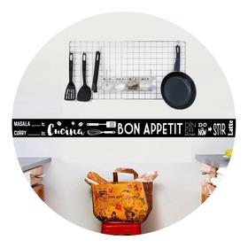 Avalon Vinilos Decorativos Guardas Cocina 120x10 Cm