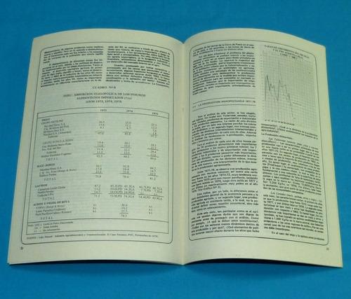 avances de investigación 1979 recesión productiva minería