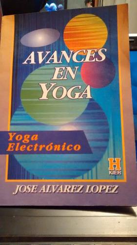 avances en yoga // jose alvarez lopez