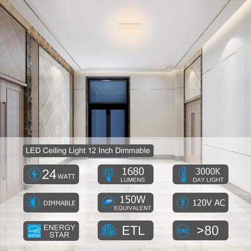 avanlo super slim 0.6 inch thickness 12 inch led ceiling lig