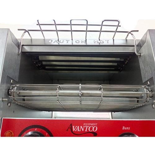 avantco t140 tostador banda conveyor rebanadas 120v xxtos