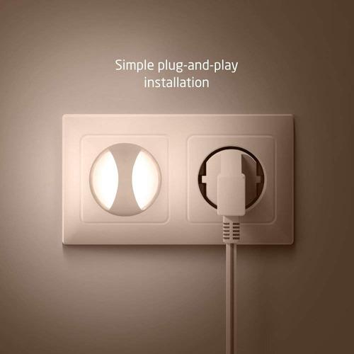 avantek 0.26w led night lights plug in sensor night light at