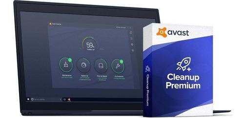avast cleanup premium + licencia, acelere y limpie su pc