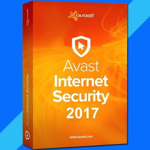 avast internet security 2017 |10 pc | 3 años| lic original
