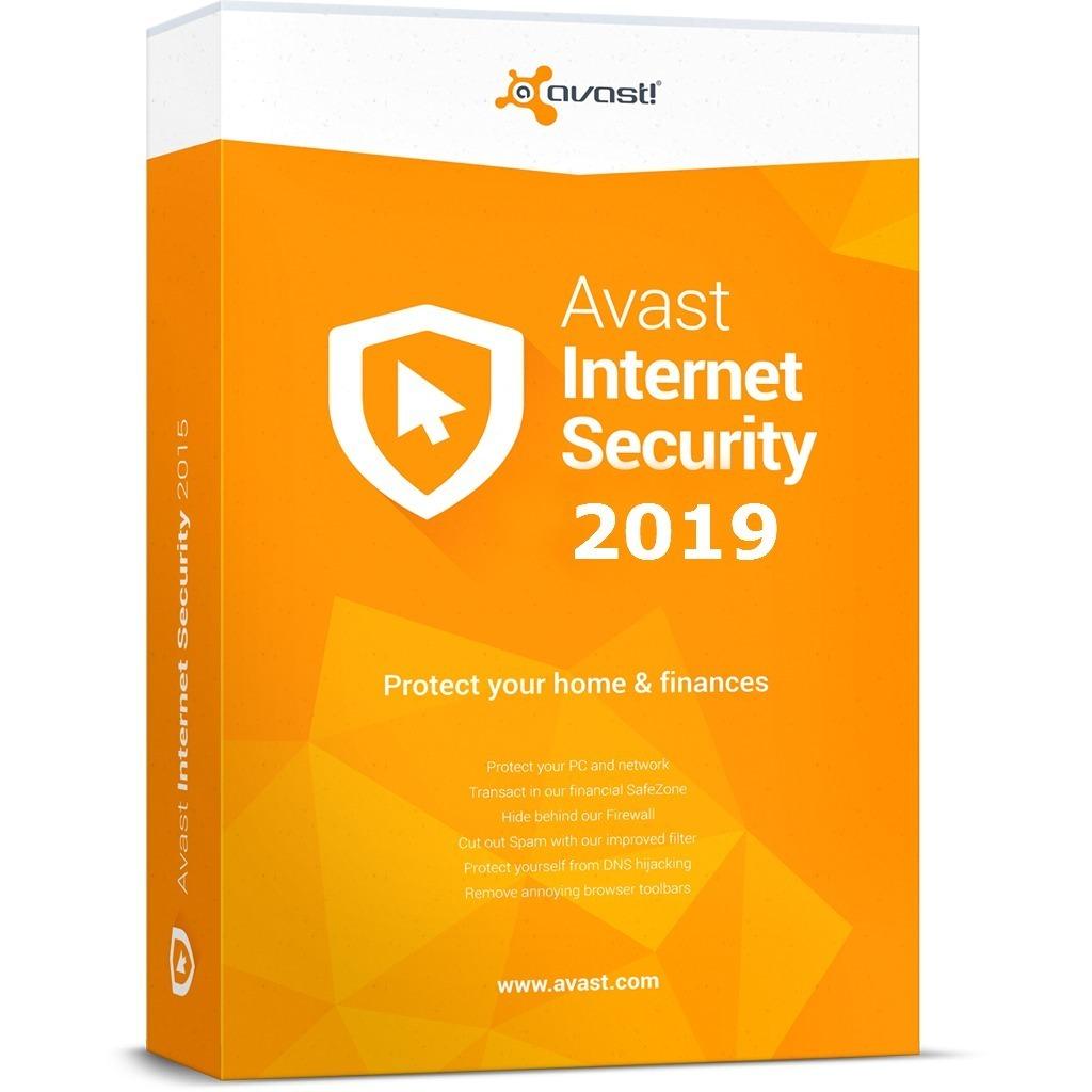 licencias avast internet security 2019