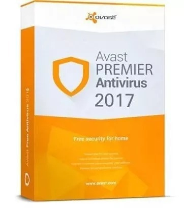 avast premier antivirus 2017 5 años original + cleanup 3 pc