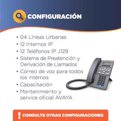 avaya - alquiler central telefonica ip office 500