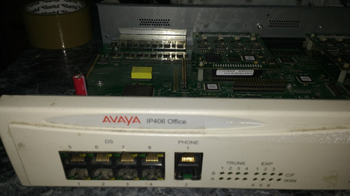 avaya router ip406 office telefonia ip comunicaci unificadas