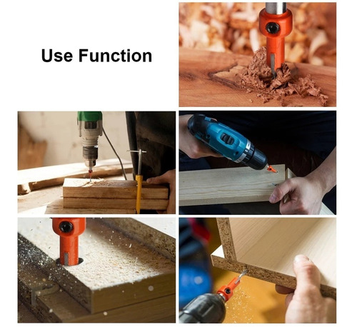 avellanador de 3mm x 8mm para madera  perforador iniciador