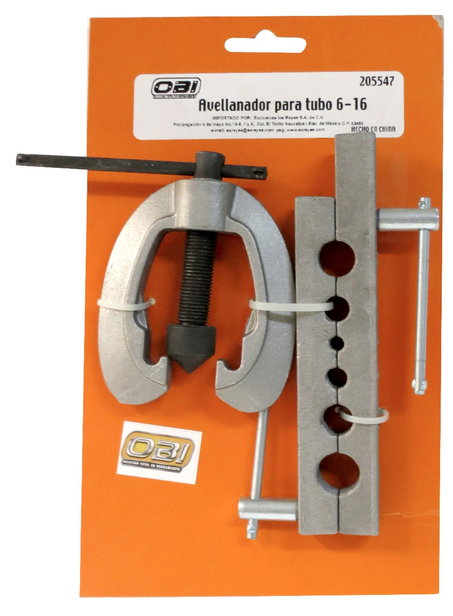 Avellanador p tubo 3 8 5 8 in profesional corta tubos - Tuberia de cobre precios ...