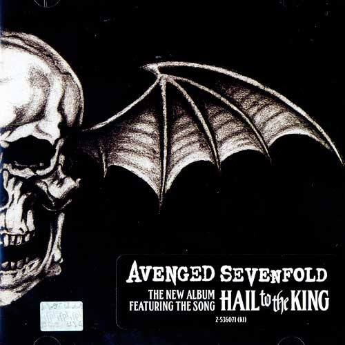 avenged sevenfold hail of the king cd disco con 11