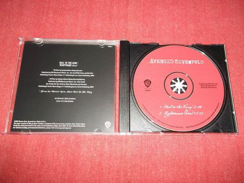 avenged sevenfold - hail to the king cd ep usa ed 2013 mdisk